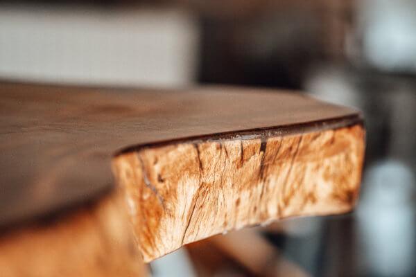 Tischplatte rustikal